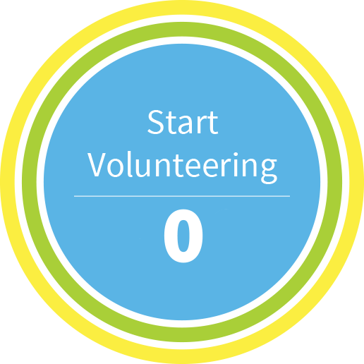 500 Started Volunteering