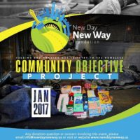 Help feed the less fortunate & distribute toiletry Care kits