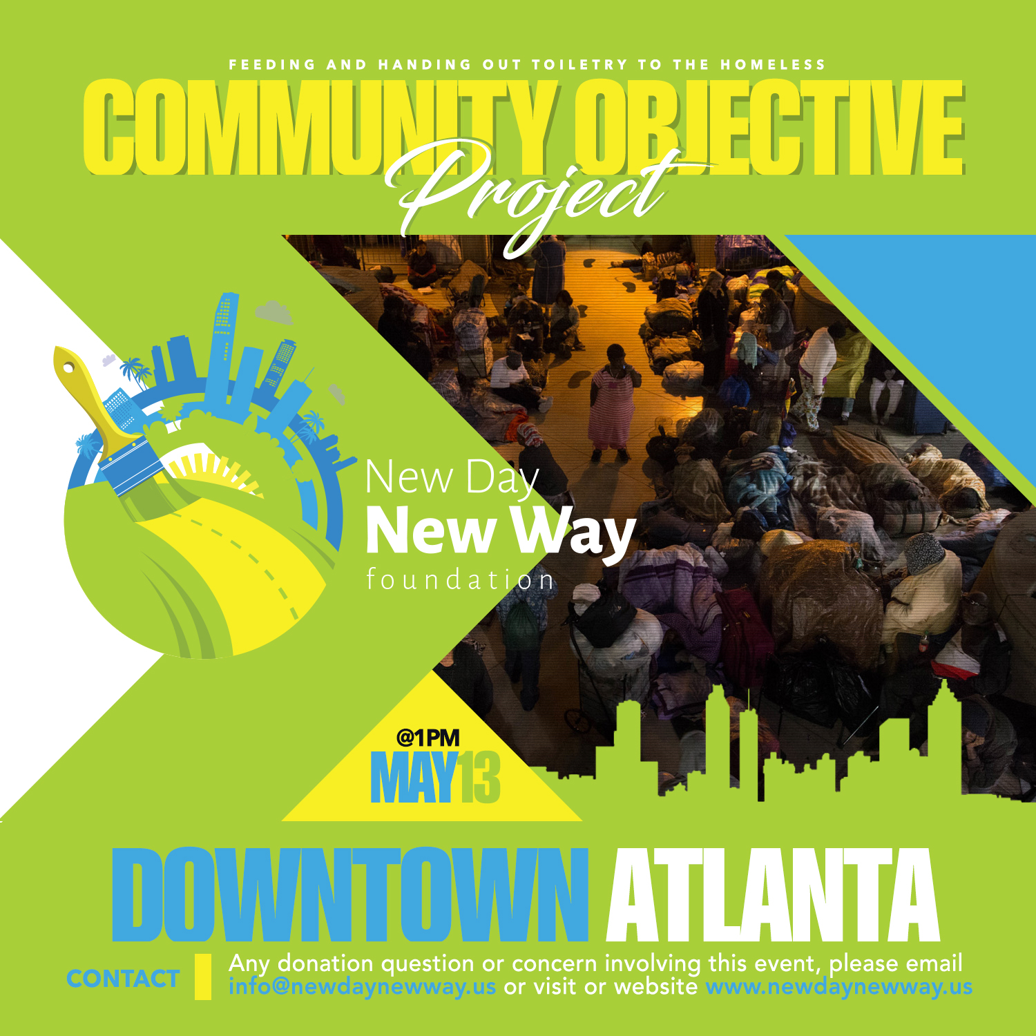 Community Objective Event Downtown Atlanta