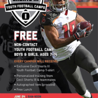 Cecil Shorts III Youth Football Camp
